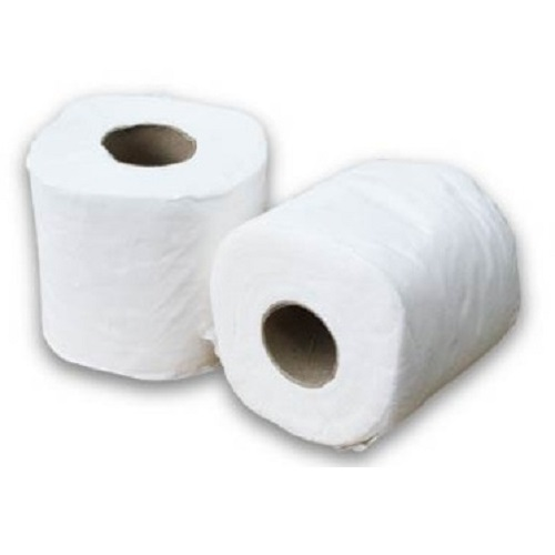 small toilet roll tissue paper